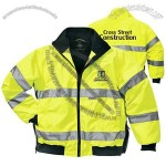 Signal High Visibility Custom Printed Reflective Jacket