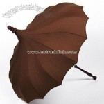 Signature Bella Pagoda Umbrella - Brown