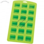 Silicone 18-Square Ice Cube Tray and Baking Mold
