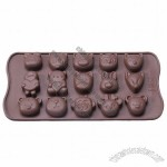 Silicone Animal Shapes Cake Decorating Candy Jelly Chocolate Ice Cube Tray Mold