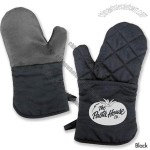 Silicone Backed Oven Mitt
