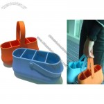 Silicone Bag witn 4 Compartment