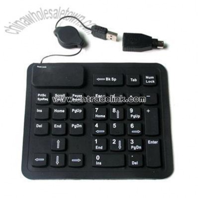 Silicone Calculator USB Keypad