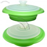 Silicone Collapsible Steamer Basket with Lid