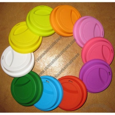 Silicone Cover, Coffee Cup Lid