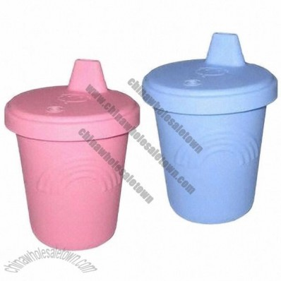 Silicone Cup with Cover