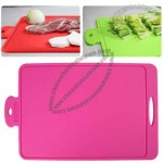 Silicone Cutting Board with Scale
