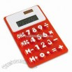 Silicone Dual power 8 digit Calculator