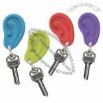 Silicone Ear Ring Keychain
