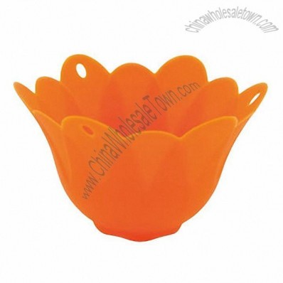 Silicone Egg Poacher with LFGB Approvals