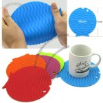 Silicone Fish Coaster - Insulation Pad