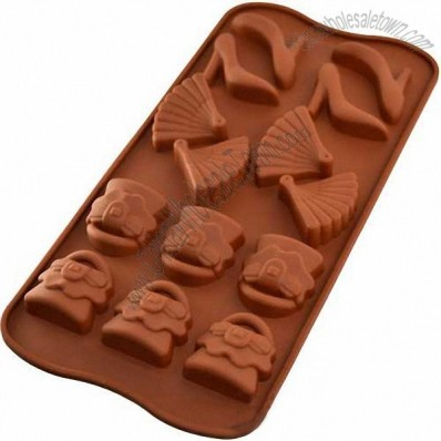 Silicone Ice Candy Cookie Cake Bake Tray Set Pan Chocolate Crayons Butter Mold