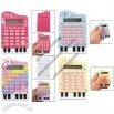 Silicone Keypad 8 Digits LCD Display Piano Calculator