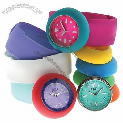 Silicone Kids Slap Watch