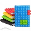 Silicone Lego Blocks Notebook