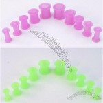 Silicone Light Color Ear Tunnel Ear Expander
