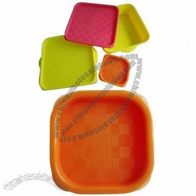 Silicone Lunch Box/Food Storage Container