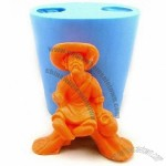 Silicone Man Of Straw Handmade Soap Mould Biscuit Mold, Cake Mould