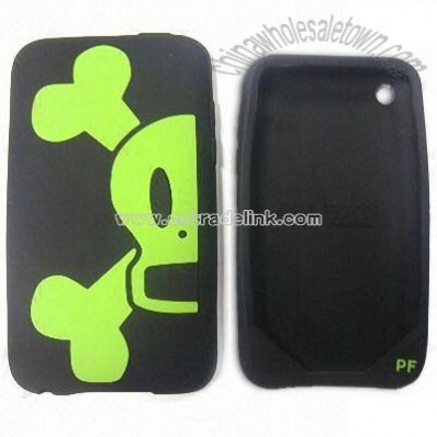 Silicone Mobile Phone Case for iPhone 3G Cover
