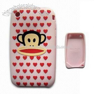 Silicone Mobile Phone Cover for iPod 3G