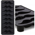 Silicone Moustache Frost Class Ice Cube Tray