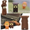 Silicone Nose Puppy and Lion USB Flash Drive