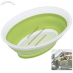 Silicone Oval Collapsible Mini Colander