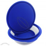 Silicone Pet Expandable/Collapsible Travel Bowl with Lid