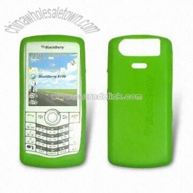 Silicone Phone Skin for BlackBerry 8100