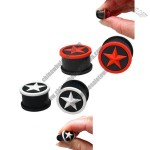 Silicone Plug with Star