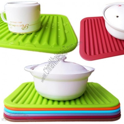 Silicone Pot Holder, Place Mat