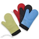 Silicone Quilted Oven Mitts