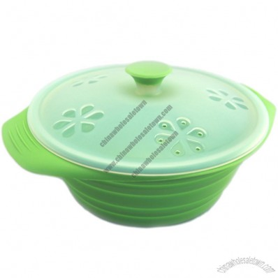 Silicone Rice, Grain Cooker, Microwave Cooker and Oven Steaming
