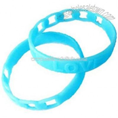 Silicone Rubber Wristbands