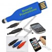 Silicone Slide Stylus Capacitance Pen USB Flash Drive