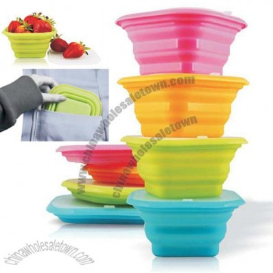 Silicone Soft Travel Portable Collapsible Pocket Bowl