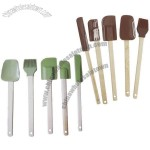 Silicone Spatulas and Brush Set
