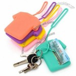Silicone T-shirts Shaped Key Wallet