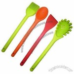 Silicone Utensils Set with Metal Inside