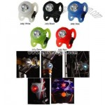 Silicone multi-function bike taillight