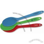 Silicone spoon is heat resistant to 500 degrees, Dishwasher safe