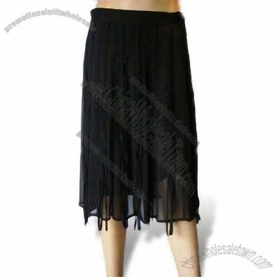 Silk/Polyester Women's Skirt