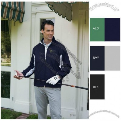 Silky Lightweight Convertible Custom Windshirt for Men's