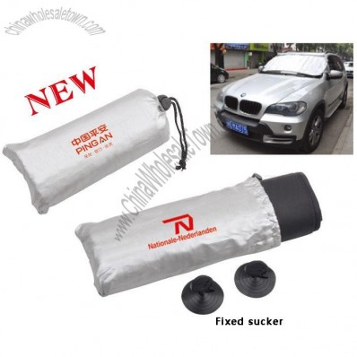 Silver TC Cloth Car Sun Shade