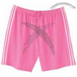 Silver for Her by Hanes Cotton/Spandex Striped Short
