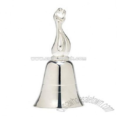 Silver-plated Bride and Groom Bell