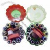 Simple and Easy to Carry Round Design Sewing Kits