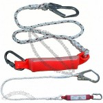 Single Belt Lanyard With Absorber