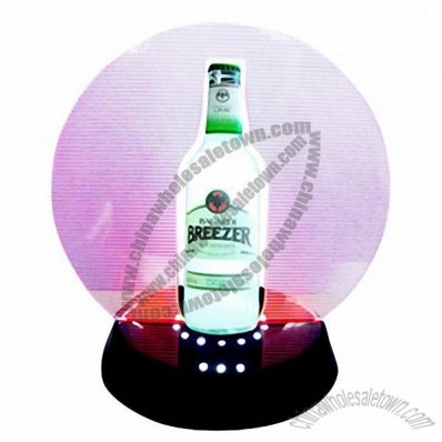Single Bottle Glorifier with LED Glow