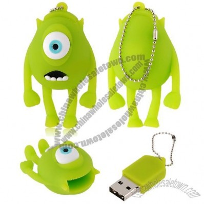 Single-Eyed Cartoon USB Flash Drive